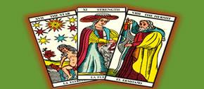 Tarot jogo das 3 cartas